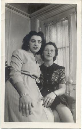 1948: Yolanda Cavell & Florence Kuehne Rumph; Quincy St.