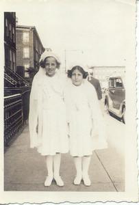 1940: Gertrude and Theresa Yarzab, 459 Lafayette St, Brooklyn.