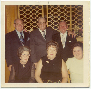 Bernard, Jimmy, John, Irene, Mary, & Alice Warnock.