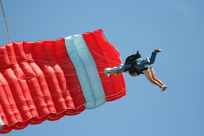 James goes skydiving at Skydive Long Island, Calverton, NY.