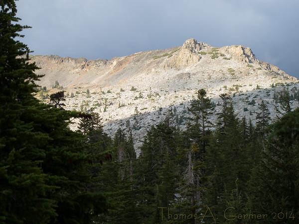 Shoulder of Jack's Peak.