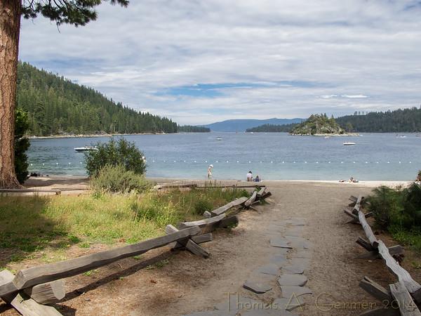 Vikingsholm, Emerald Bay, Lake Tahoe