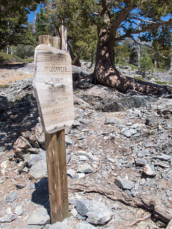 Desolation Wilderness boundary