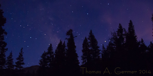 An attempt at star photography.