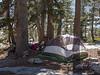 Campsite at Lake Aloha