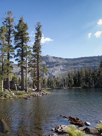 Tamarack Lake, with Ralston Peak in the background.