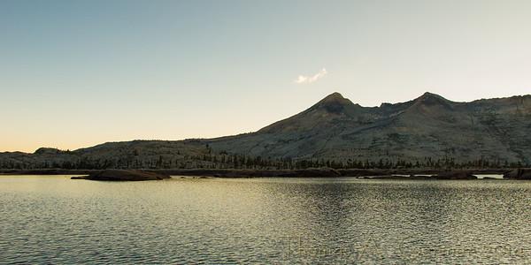 Lake Aloha and Pyramid Peak