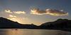 Sunset over Lake Aloha and the Crystal Range.