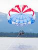 Parasailing on Lake Tahoe