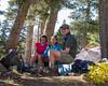 Camp at Lake Aloha