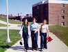 Julie, Betty, Dede. SUNY Alfred State College. October 1973.