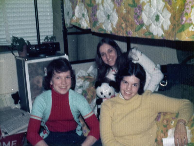 Dede, Julie, Teresa. SUNY Alfred State College. January 1974.