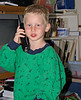 He couldn't wait to call Grandma to tell her about his first day.