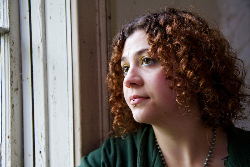 Caitlyn at a window of the church in Macintosh, Ontario<br /> <br /> 1/25 at F2.8, 640 iso hand held. I don tknow why i hand held it, as I did bring a tripod.