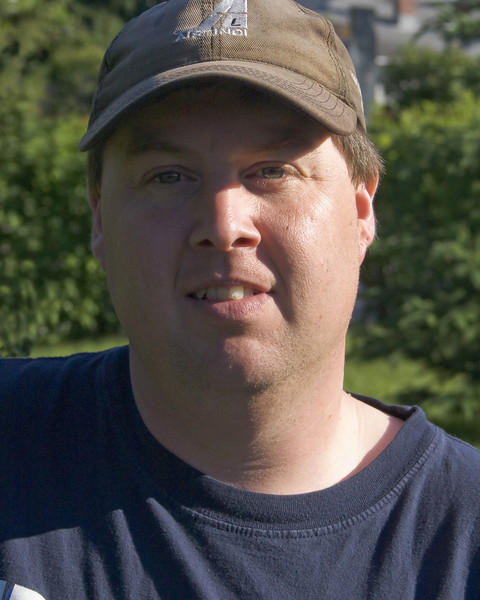 Photo of me, taken by John (5 y/o) with a Sony A100 DSLR.<br /> <br /> He hasn't learned how to properly compose a photo yet but he will!