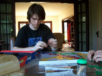 At Matt's house. At Matt's house.