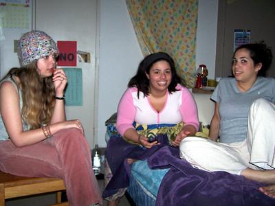 Aerika, Evynne, and Yarissa.