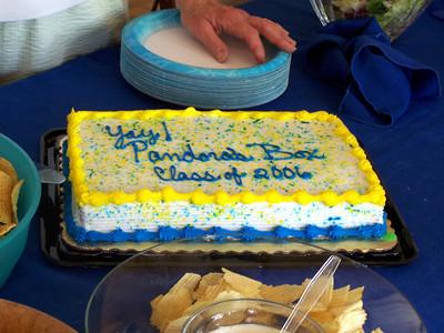 Dessert!  The cake.