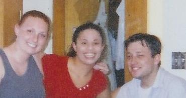 Carolyn, Evynne, Josh, Spring 2003.