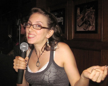 Karaoke at Blacksmith's in Smithtown, NY.