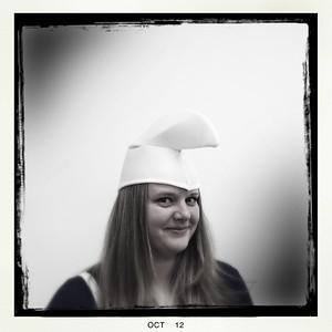 Sarah as Smurfette