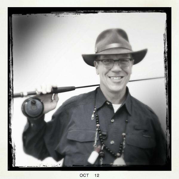 Joel as a fisherman