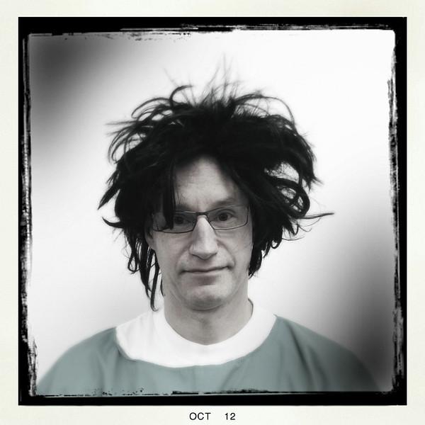Doug as Dr. Scissorhands