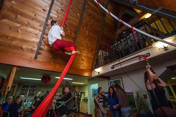 New Year 2012 at Corbin's Fun House, Rob's Ride and Natural Bridges Park