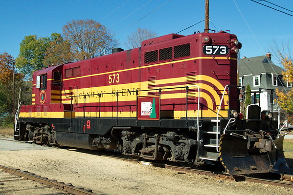 Conway Scenic Railway - October 18th, 2017