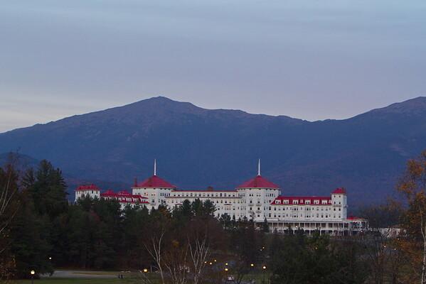 Scenic Overlook near the Mount Washington Hotel, New Hampshire - October 21st, 2017