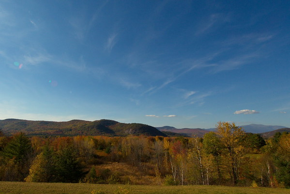 Scenic Overlook in North Conway, New Hampshire - October 21st, 2017