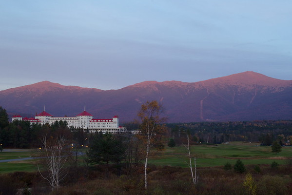 Scenic Overlook near the Mount Washington Hotel, New Hampshire - October 21st, 2017