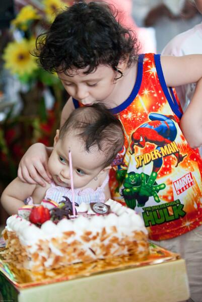 Jeni's First Birthday
