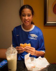 March 12, 2013 - So, I played a soccer game; had dinner at temple; and yes, I am still hungry.