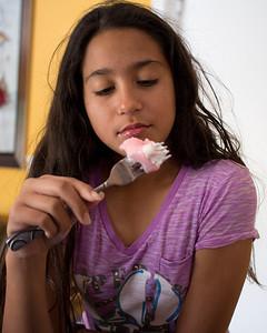 March 17, 2013 - Hmmm...strawberry Mochi...yummy in my tummy
