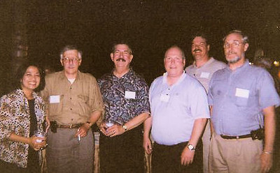 Boca Raton Corporate Meetings, 2004  Late into the evening. Gad, what an awful picture.