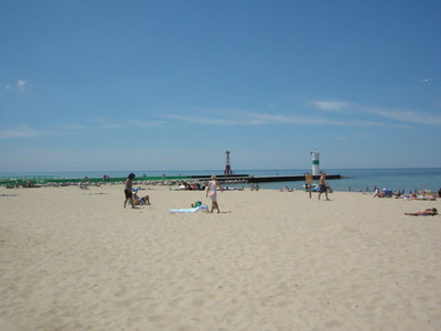 Pentwater and Lake Michigan