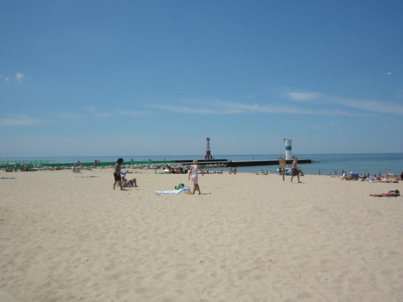 Pentwater and Lake Michigan