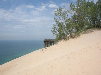 Viewing platform at the dunes