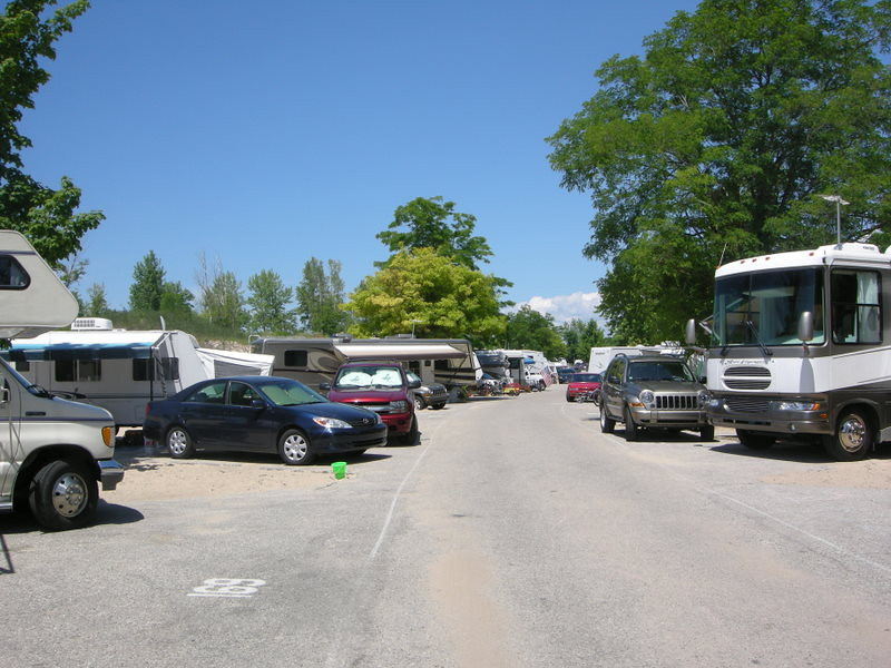 Campground<br /> <br /> We would come here every summer in our pop up camper when I was a kid - it was here that I developed my love for camping! More RVs and fewer tents than there used to be though. :(