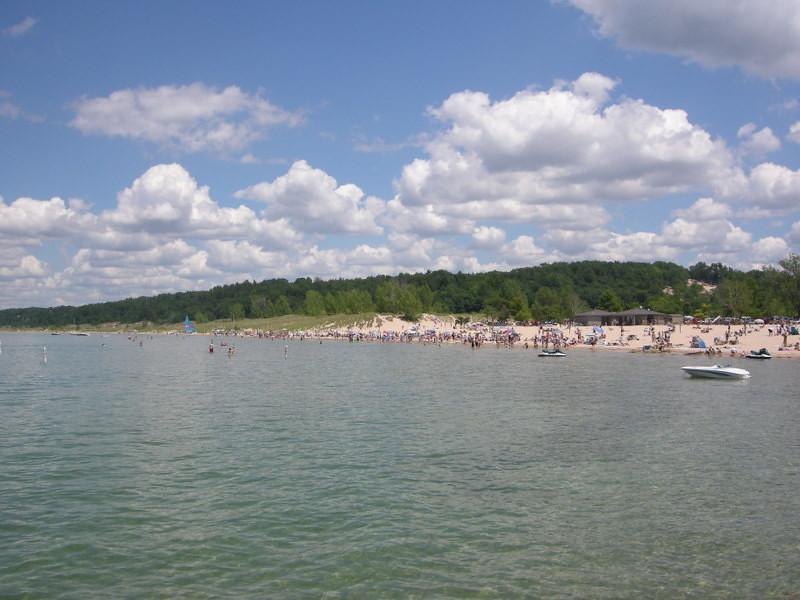 Busy beach!