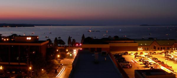 Grand Traverse Bay at Night