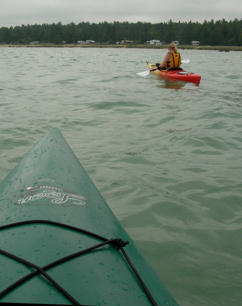 Kayaking the Straits of Mackinac