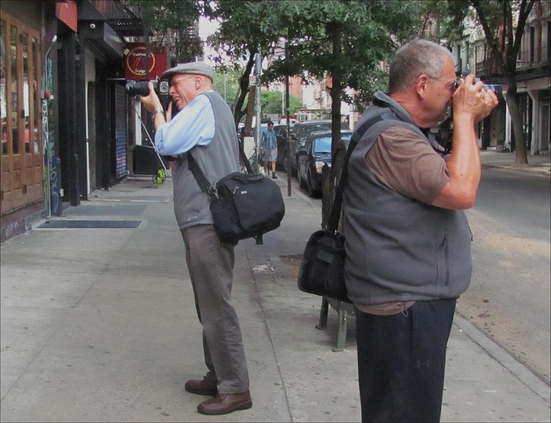 Different Strokes - A couple of Pdml'ers on St. Marks Place
