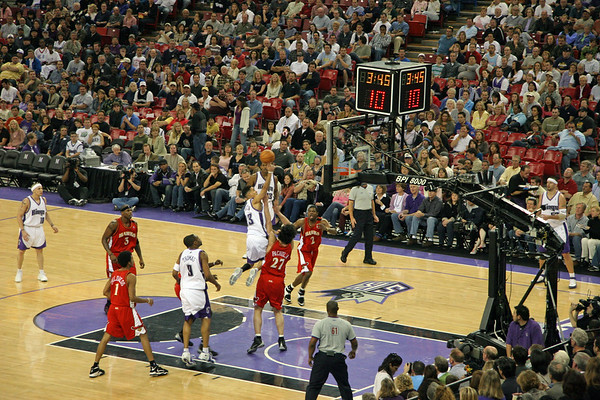 Kings vs. Hawks, Feb. 20 2006