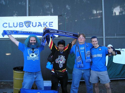 Casbah members getting geared up for the game.