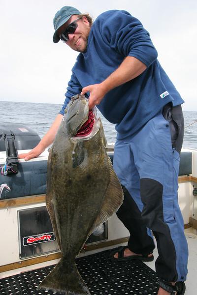 42 lb halibut
