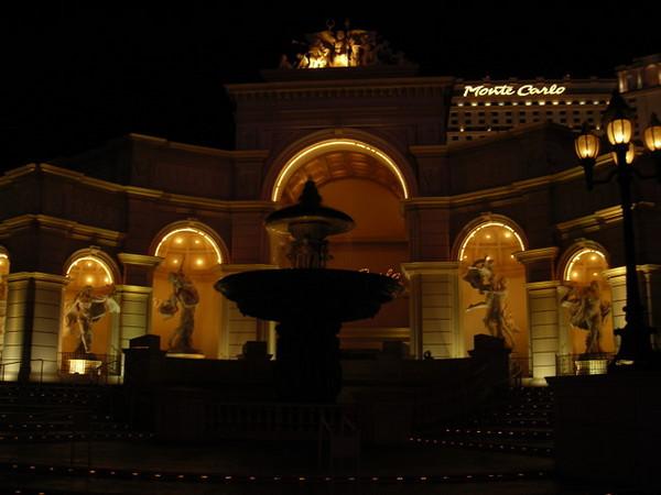 Monte Carlo casino entrance.