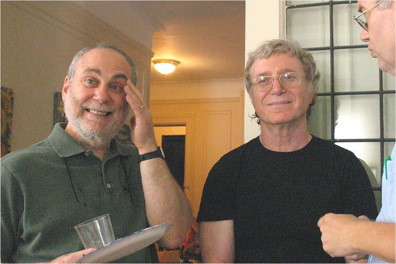 Jim Neuberger, Paul Avrin, Ron Tiekert