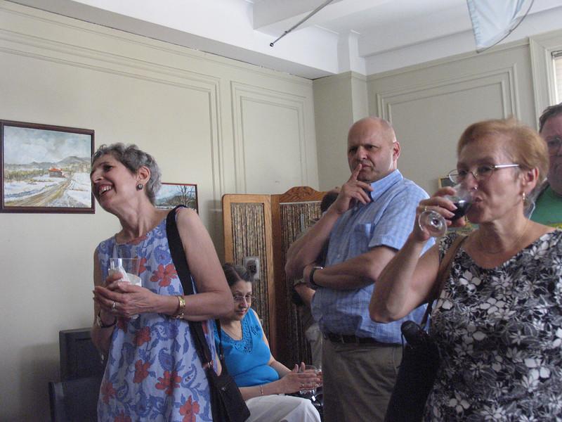 Lynn Cushman, Sharon Swerdloff, Ed Hepner, Lynda Gruber